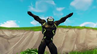 Genji in Fortnite!!!! (Green Omega Lights)