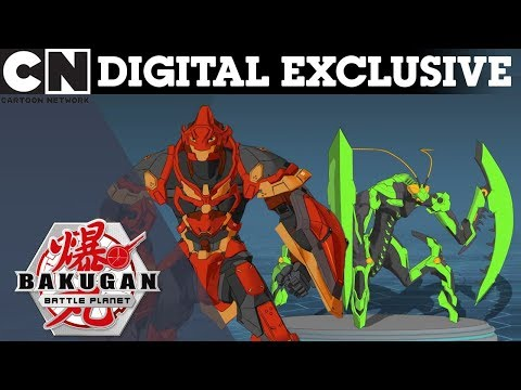 Bakugan: Behind The Battle | Fire & Earth Bakugans | DIGITAL EXCLUSIVE | Cartoon Network UK