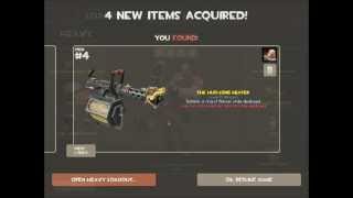 Team Fortress 2 Level 99 Huo-Long Heater Drop