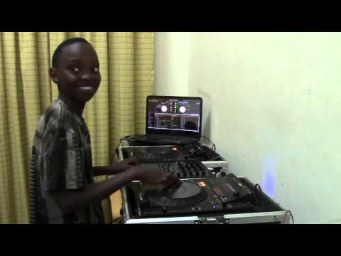 SICK! Youngest Kenyan Dj with skill