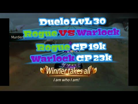 Rogue VS Warlock - Rogue cp19k - Warlock cp23k - Era Of Legends MmoRpg español