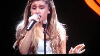 Ariana Grande KISS Jingle Ball 12-02-13 Dallas,TX AAC
