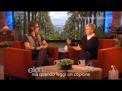Ellen 2012 - Johnny Depp SUB ITA (1/4)