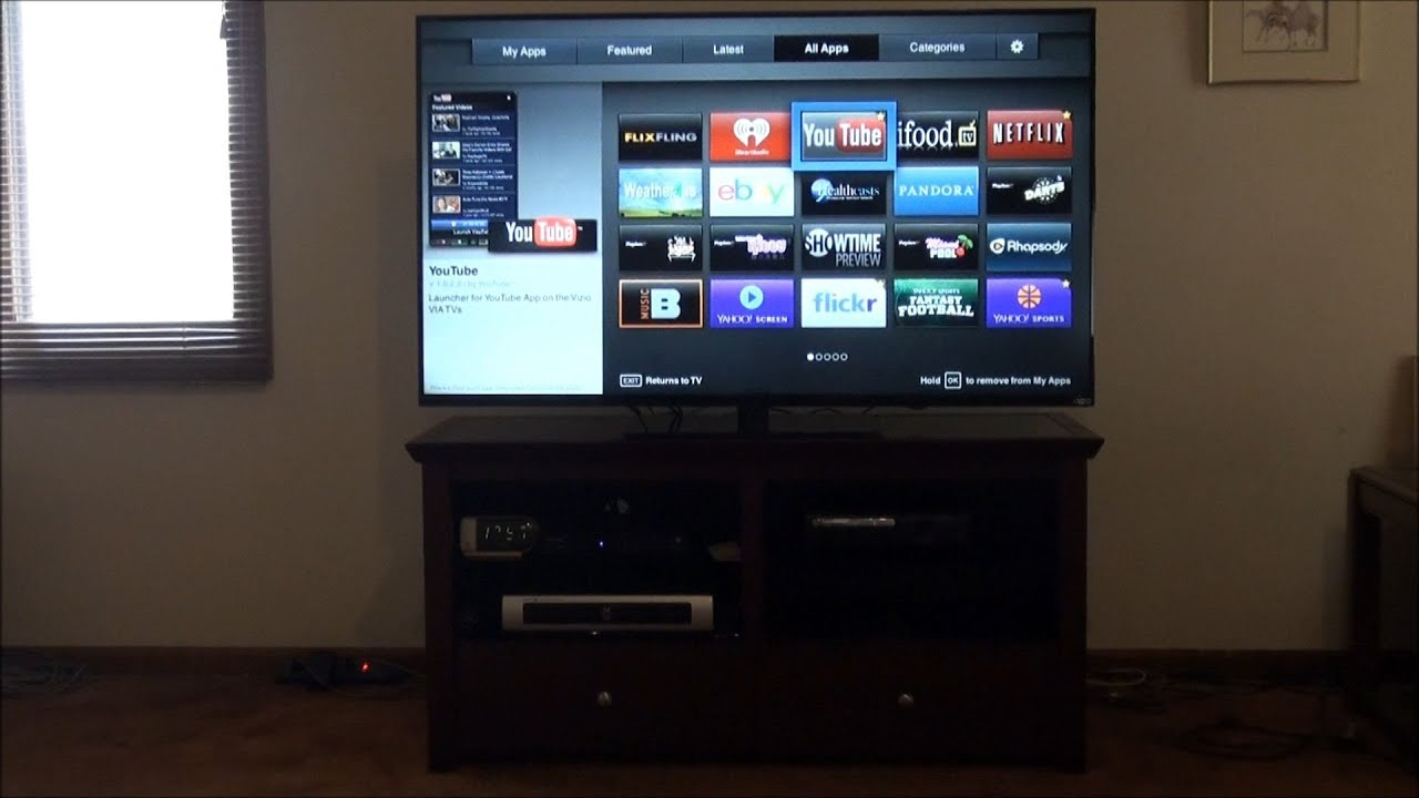 Goodbye 2003 Mitsubishi TV; o 2014 Vizio