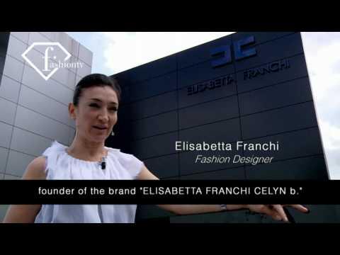ELISABETTA FRANCHI - Designer At Work For FashionTV