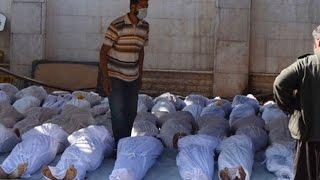 4.04.17 в результате химической атаки в провинции Идлиб сотни жертв и пострадавших,химоружие в Сирии