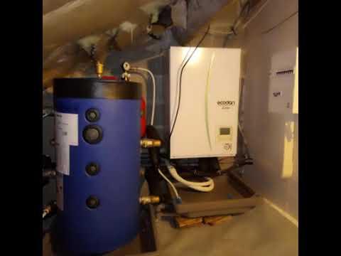 pompe chaleur air eau mitsubishi zubadan 60 youtube
