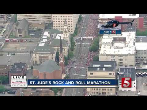 Rock 'n' Roll Nashville Marathon Gets Underway