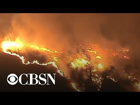 Deadly wildfires ravaging