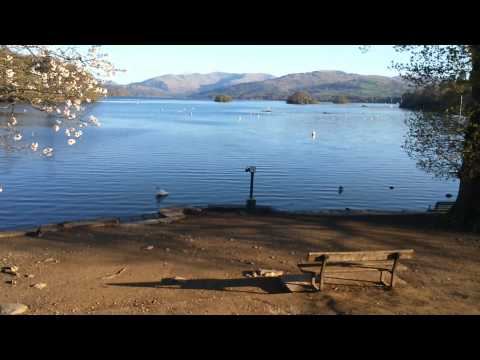 Quick glimpse of Lake Windermere ,Bowness-on-Windermere, Lake District