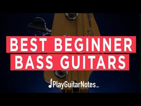 Best Beginner Bass Guitars - 2021 - Play Guitar Notes