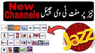 Mobilink Jazz Free Tv Channels New Channels Added 2019