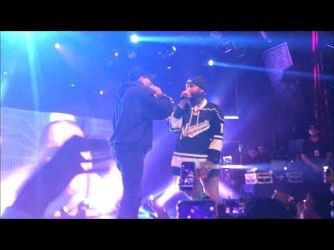 "Joyner Lucas brings out Chris Brown to perform ""Stranger Things"""