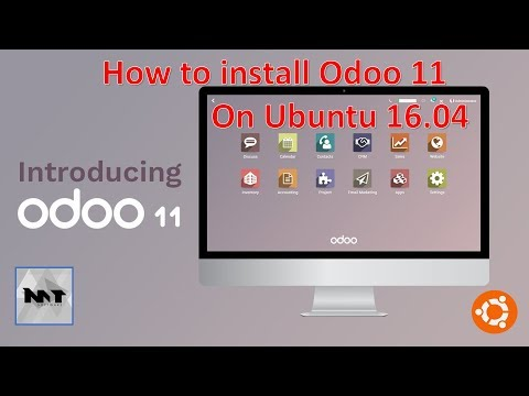 How to install Odoo 11 on Ubuntu 16.04