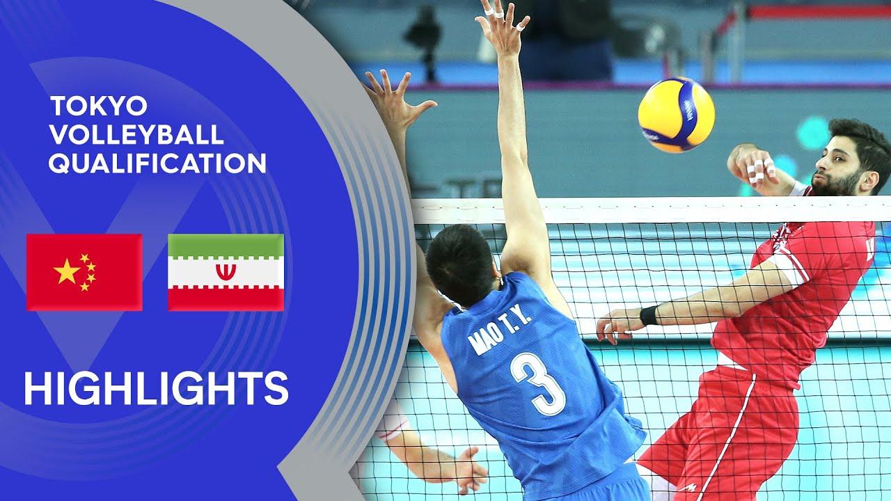 China vs. Iran - Highlights | AVC Men's Tokyo Volleyball Qualification 2020