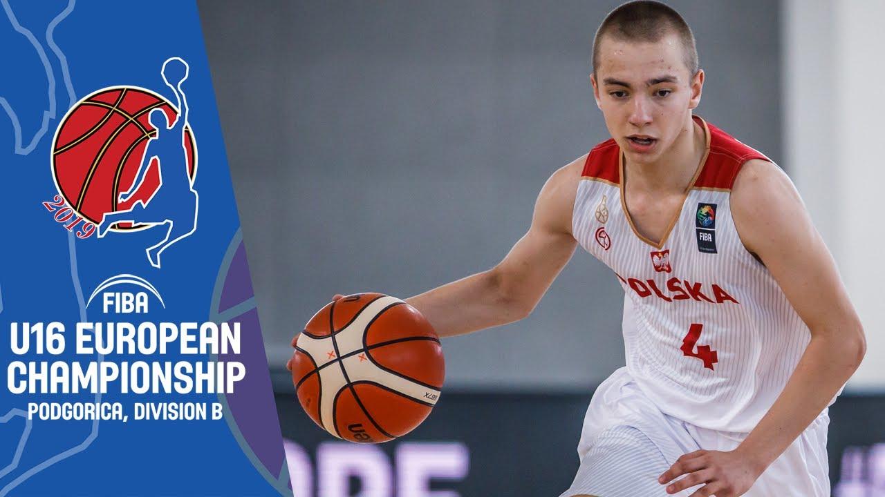 Kosovo v Poland - Full Game - FIBA U16 European Championship Division B 2019