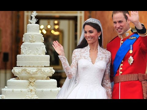 A Slice Of Prince William And Kate Middletons Wedding Cake To Be Auctioned Off
