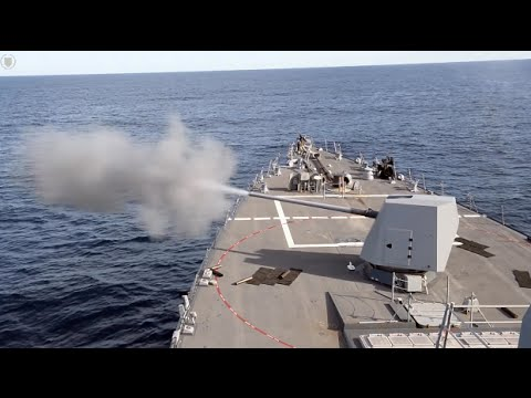 U.S. Navy USS Spruance (DDG 111) Conducts Operations While Underway