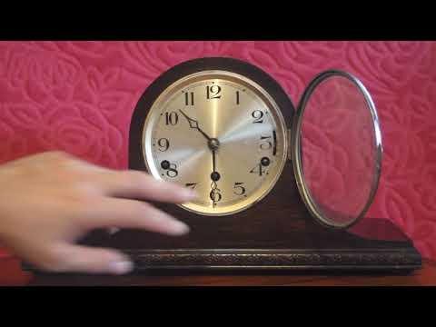 Antique German Mantel Clock with Westminster, Fort Augustine Villa, Westminster Chimes