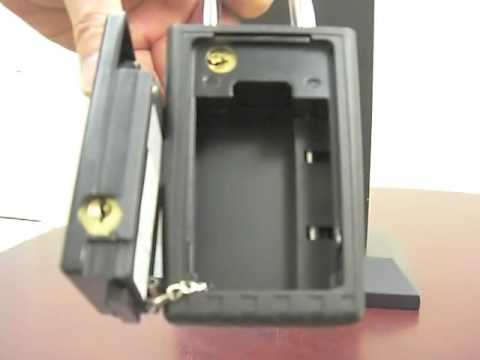 unlocking a kidde portable keysafe doovi. Black Bedroom Furniture Sets. Home Design Ideas
