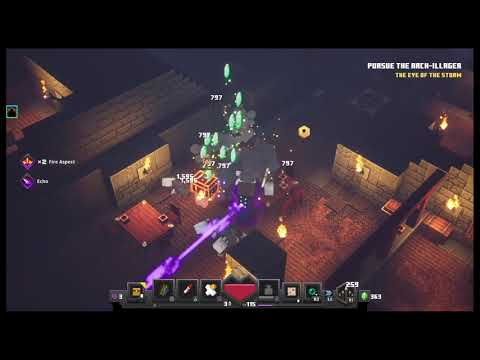 Minecraft Dungeons Helping my Friend beat the game for the first time! |