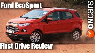 Ford EcoSport EcoBoost (petrol) First Drive Review by OnCars India