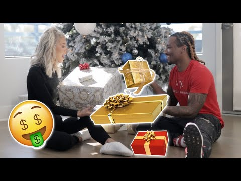 Boyfriend & Girlfriend Early Christmas Gift Exchange!!! (ONLY USING $50) VLOGMAS DAY 4