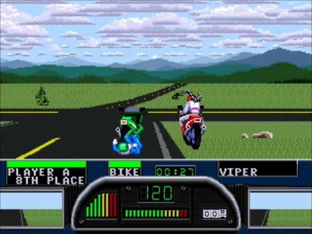 Let's Play Road Rash 2 - Sega Genesis