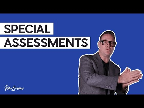 What Are Special Assessments?
