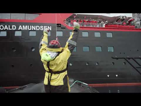 Naming Ceremony for Hurtigruten's MS Roald Amundsen