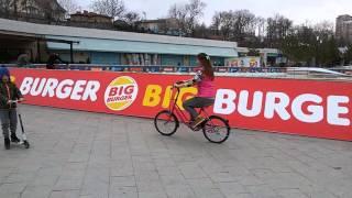 Обучение езде на велосипеде в Одессе