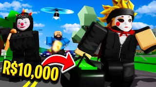 THE GREATEST BANK HEIST in ROBLOX BROOKHAVEN!! (Story)