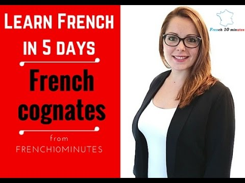 3. French cognates