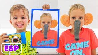 Download lagu Vlad y Niki juegan con fotos | Videos divertidos para niños