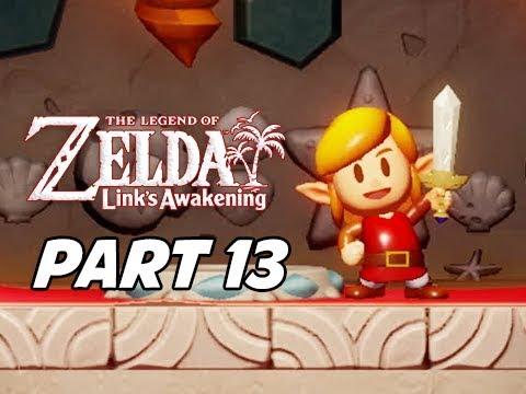 The Legend Of Zelda Link S Awakening Walkthrough Gameplay Part 13 Koholint Sword