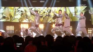 TVXQ - Catch Me, 동방신기 - 캐치미, Music Core 20121013