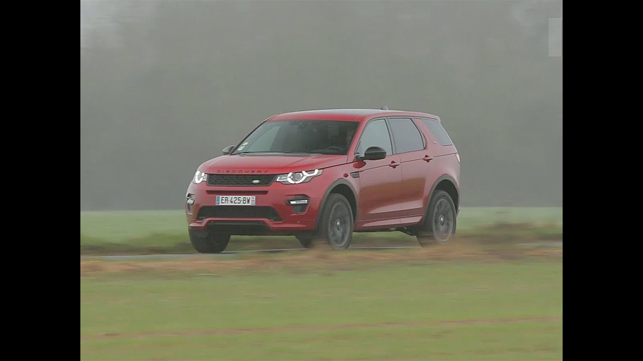 essai land rover discovery sport sd4 240 hse 2017 youtube. Black Bedroom Furniture Sets. Home Design Ideas