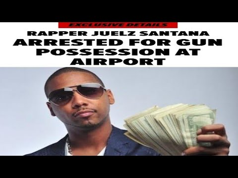 Juelz Santana officially arrested for multiple charges for airport incident