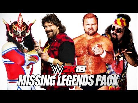 WWE 2K19 MISSING LEGENDS PACK [Mick Foley, Arn Anderson, RVD]