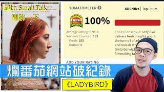 爛番茄史上評價最高電影 Lady Bird《淑女鳥》【羅比】Small Talk #002