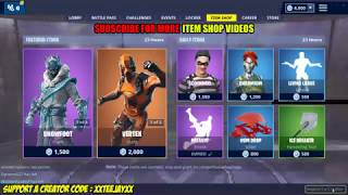 SNOWFOOT & SNOWSTRIKE SKINS! (Fortnite Item Shop 11th March)