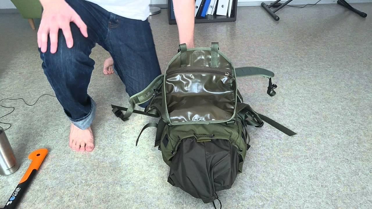 Savotta Jääkärireppu - backpack review - YouTube 5d99b8e1b7