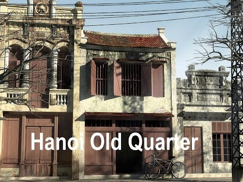 Hanoi Old Quarter - a maze of streets dating back to the 13th century
