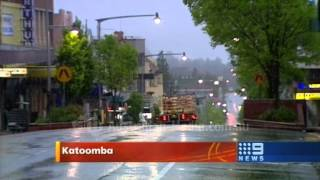 TCN Nine News Sydney - Cold weather (October 22, 2008)
