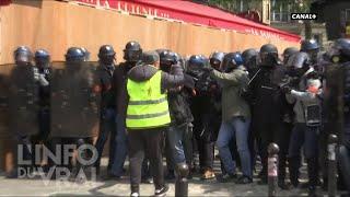 Gilets Jaunes : la nouvelle stratégie policière - L'Info du Vrai du 02/05 - CANAL+