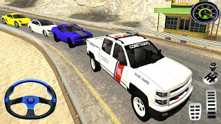 Miami Coast Guard Van Driving - Coast Guard Beach Rescue Team - Android Gameplay 2021