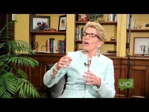 1-on-1 with Kathleen Wynne - Premier of Ontario P1 - #Sexed