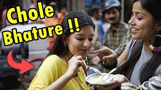 Famous Indian Street Foods - चोले भटूरे