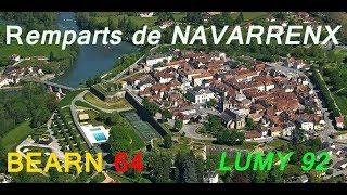 MH : Les remparts de Navarrenx, Béarn 64 LUMY 92 (Monument Historique)