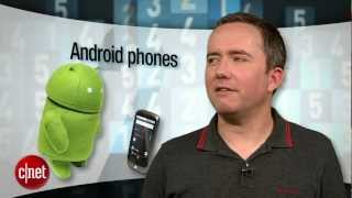 CNET Top 5 - Android phones (Summer 2012)
